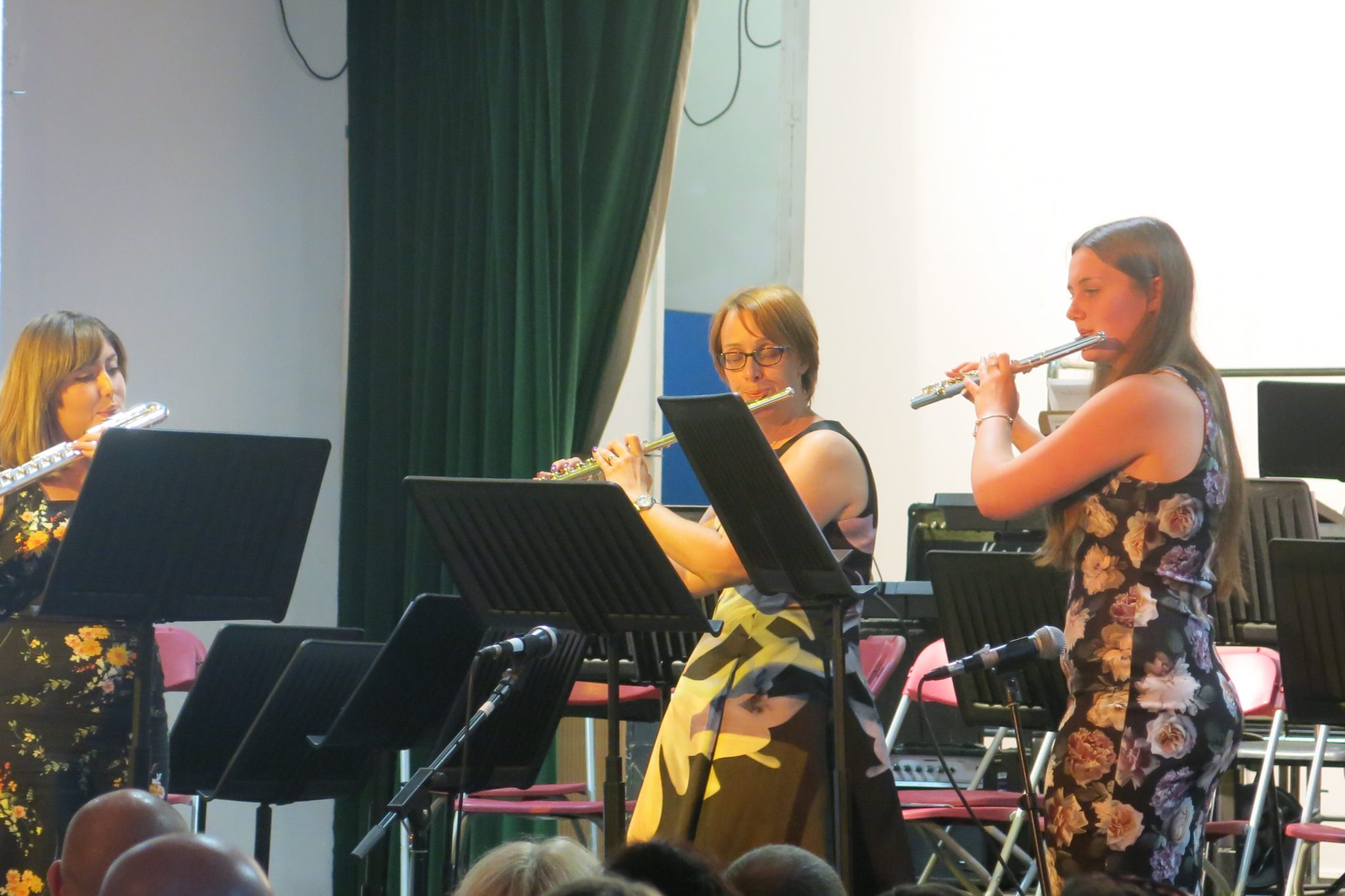 Lord Grey Academy Flute Trio at the Music Concert