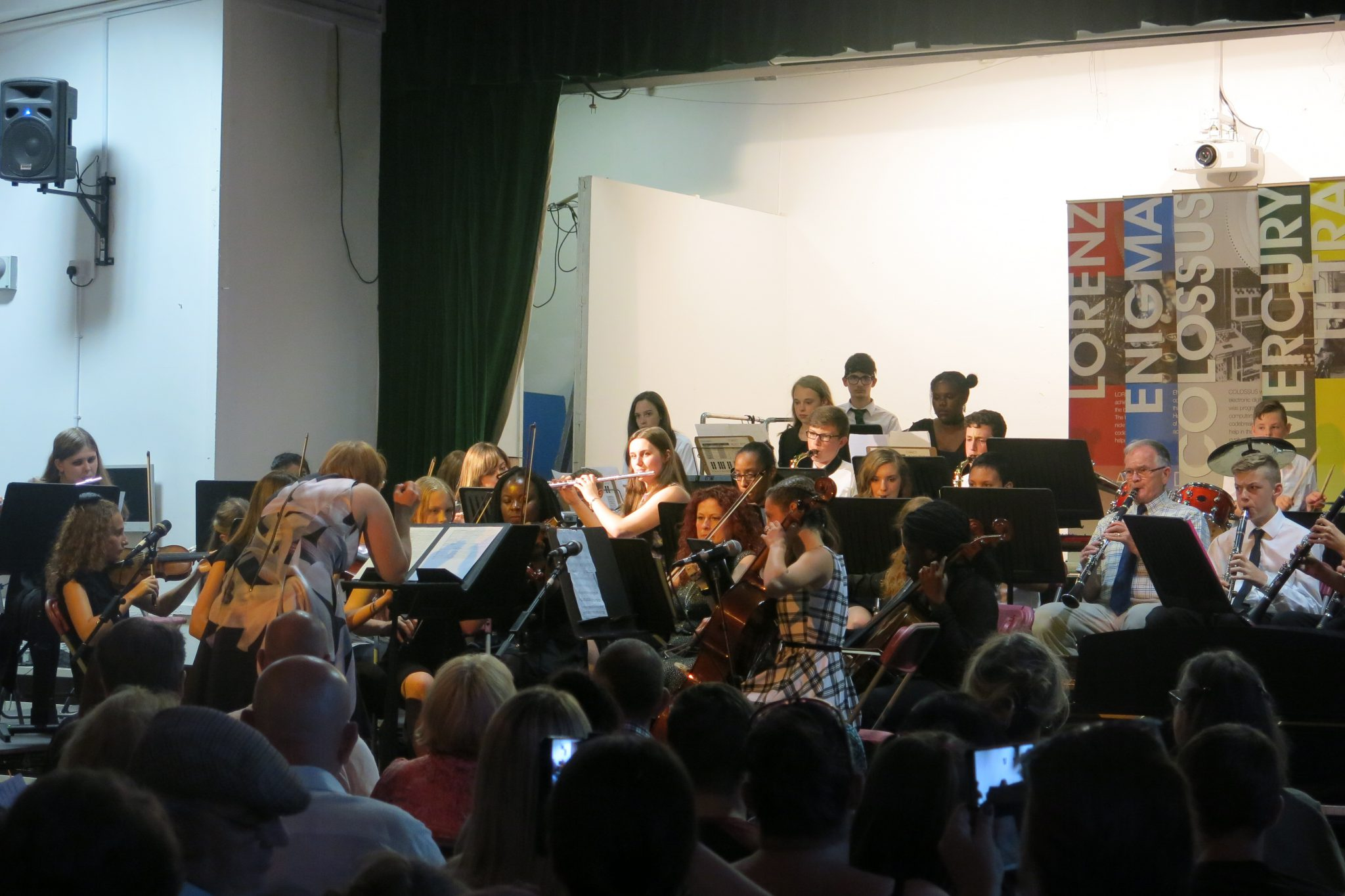 Lord Grey Academy Orchestra at the Music Concert