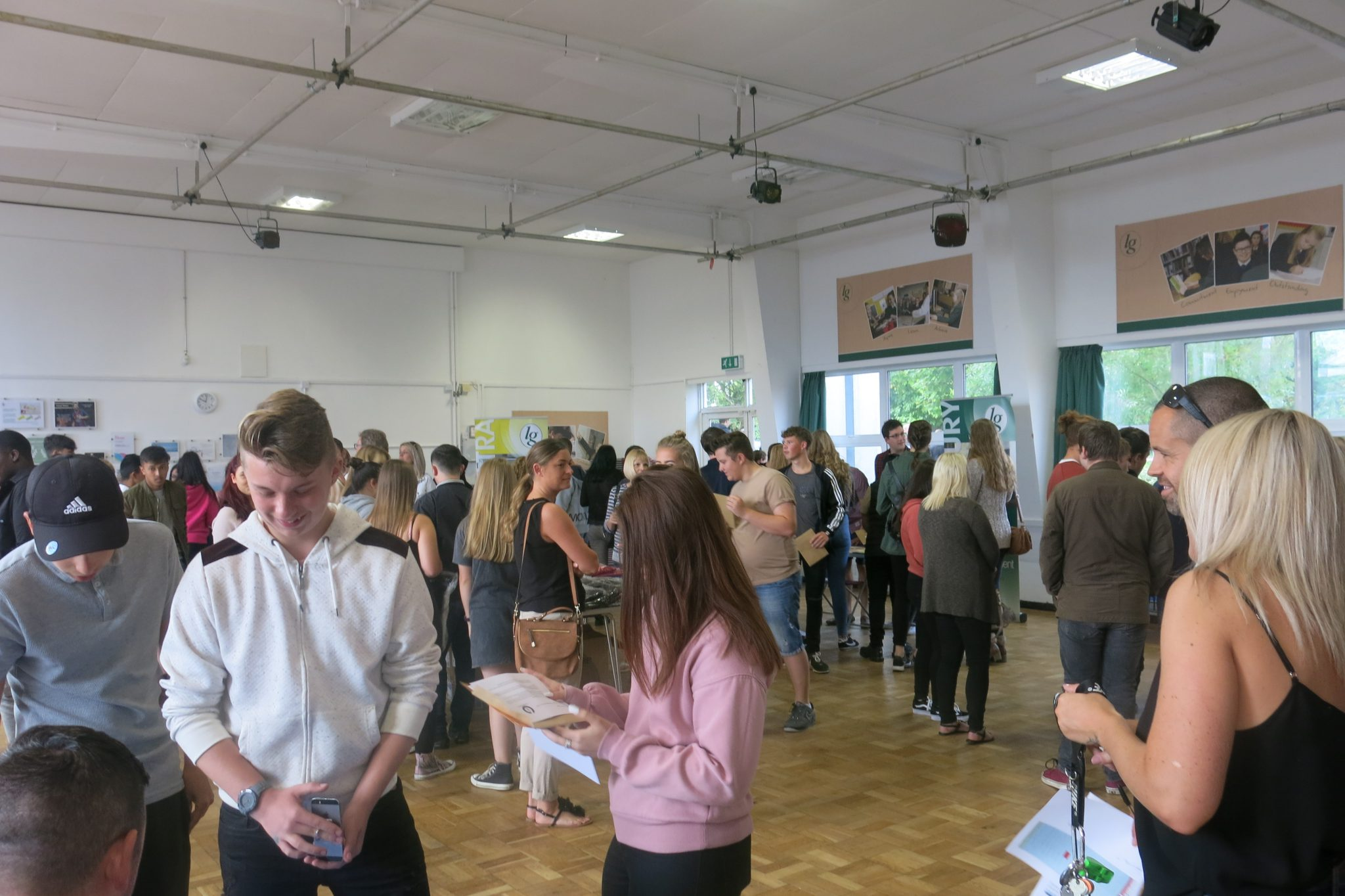 Exam Day Results at Lord Grey Academy
