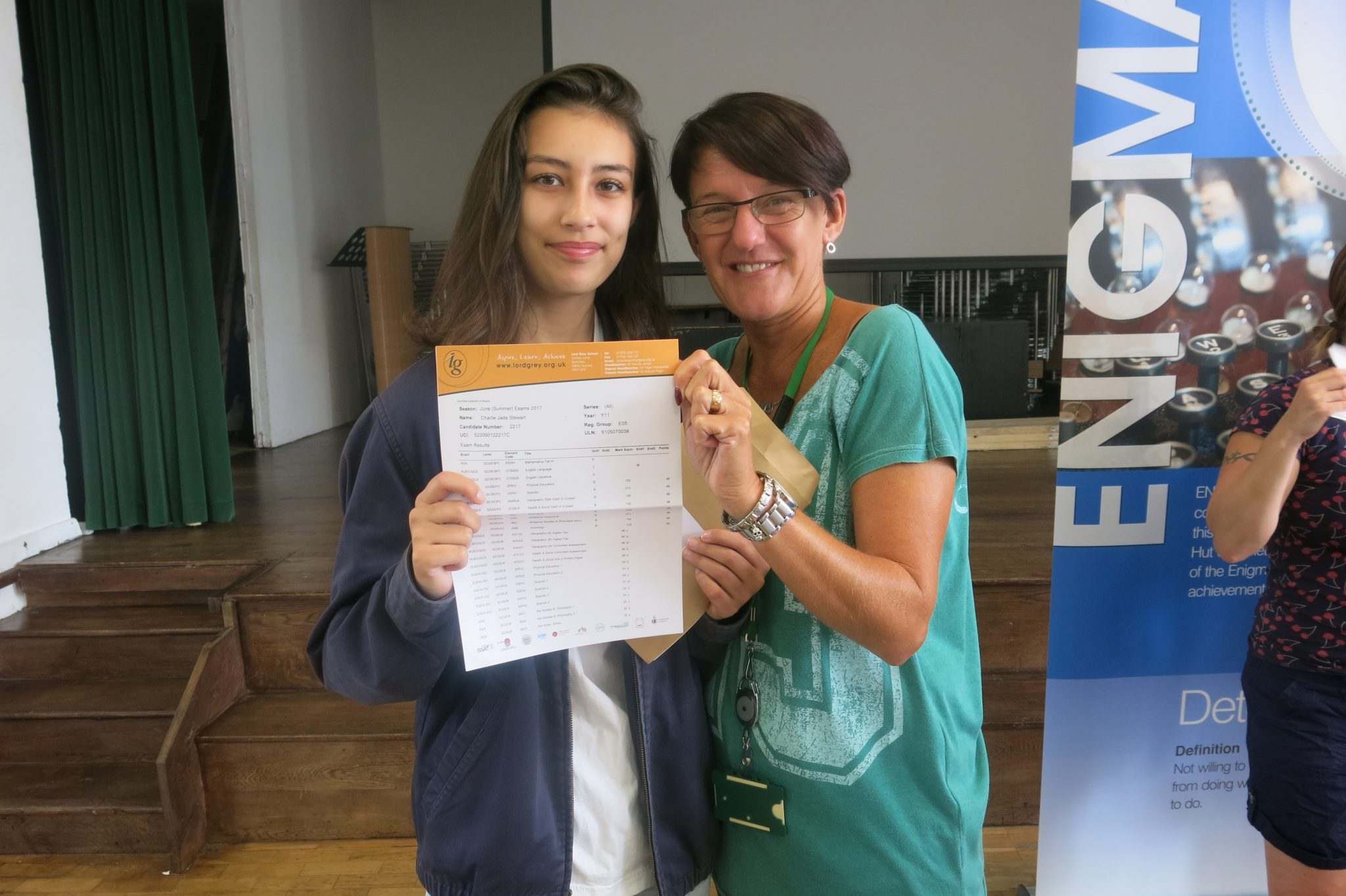 Exam Day Result Success at Lord Grey Academy