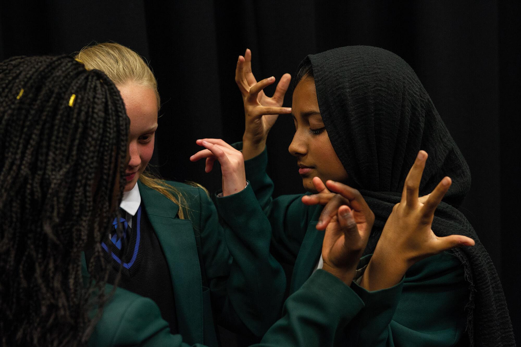Drama Students at Lord Grey Academy