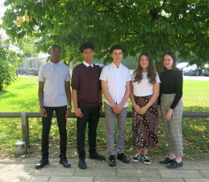 Sixth Form Student Leadership Team 2020