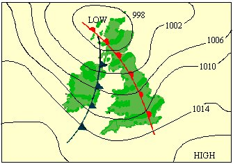 What Are Isobars On A Weather Map.Atmosphere Climate Environment Information Programme
